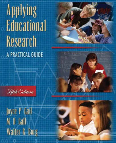 9780205380787: Applying Educational Research: A Practical Guide (5th Edition)