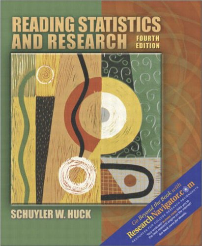 9780205380817: Reading Statistics and Research