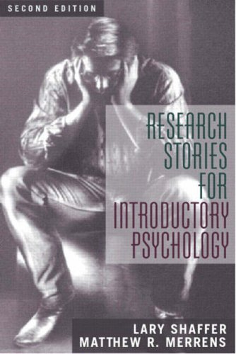 9780205385867: Research Stories for Introductory Psychology (2nd Edition)