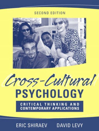 Cross Cultural Psychology Critical Thinking And Contemporary Applications 3rd Edition - image 5
