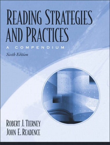 9780205386390: Reading Strategies and Practices: A Compendium (6th Edition)