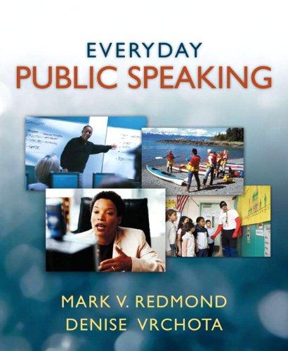 9780205386611: Everyday Public Speaking (book alone)