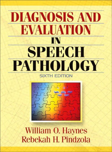 9780205386697: Diagnosis and Evaluation in Speech Pathology (6th Edition)