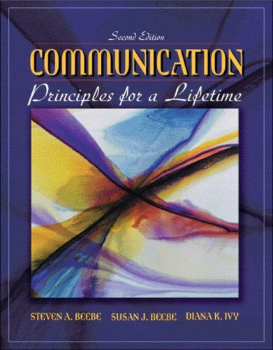 9780205386970: Communication: Principles for a Lifetime, Second Edition