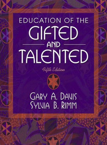 9780205388509: Education of the Gifted and Talented (5th Edition)