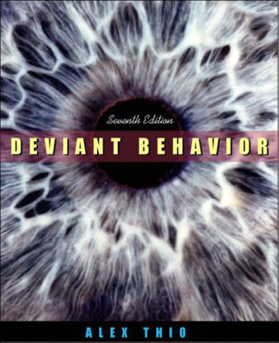 9780205388837: Deviant Behavior, Seventh Edition