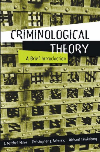 9780205389032: Criminological Theory: A Brief Introduction