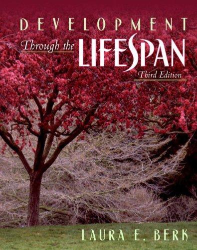 9780205391578: Development Through the Lifespan, Third Edition