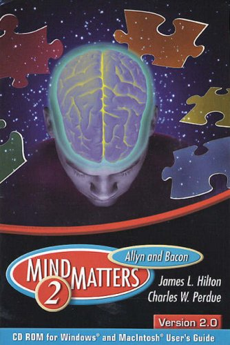 9780205393152: Allyn & Bacon MindMatters Version 2.0 CD-ROM and Users Guide (2nd Edition)