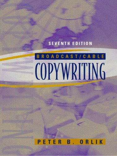 9780205393244: Broadcast/Cable Copywriting (7th Edition)