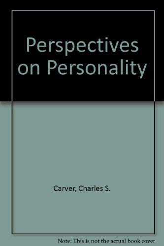 9780205393886: Perspectives on Personality