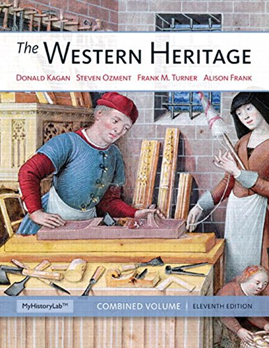 9780205393923: The Western Heritage: Combined Volume (11th Edition)