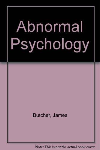 9780205944286 abnormal psychology abebooks james n butcher 9780205394067 abnormal psychology fandeluxe Choice Image