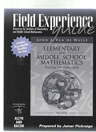 Field Experience Guide:Resources for Teachers of Elementary: PICKREIGN