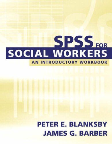 9780205395668: SPSS for Social Workers (with CD-ROM)
