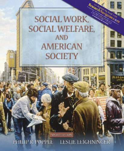 9780205401819: Social Work, Social Welfare, and American Society (with Research Navigator) (6th Edition)
