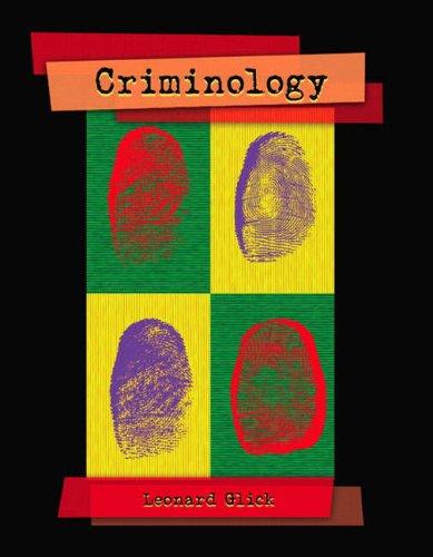 Criminology: Glick, Leonard