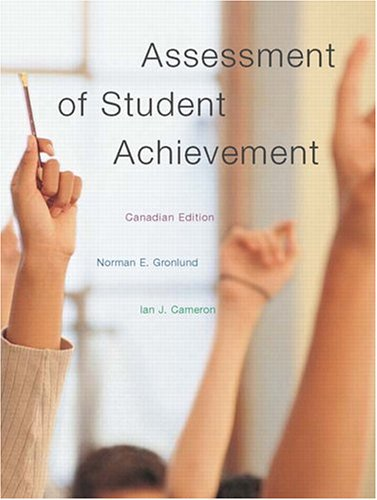 9780205403103: Assessment of Student Achievement, Canadian Edition