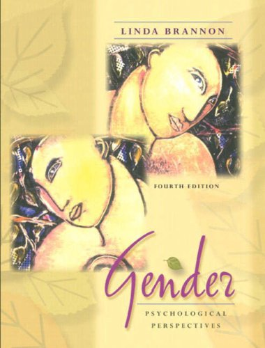 9780205404575: Gender: Psychological Perspectives (4th Edition)