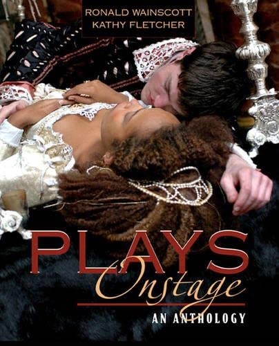 9780205405749: Plays Onstage: An Anthology