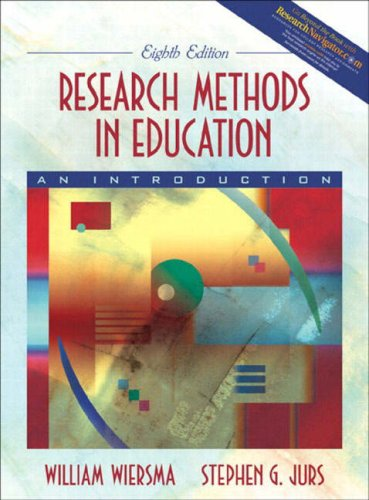 9780205406098: Research Methods in Education: An Introduction (8th Edition)