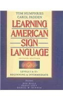 9780205407620: Learning American Sign Language: Beginning & Intermediate : Levels I & II (VHS Included)