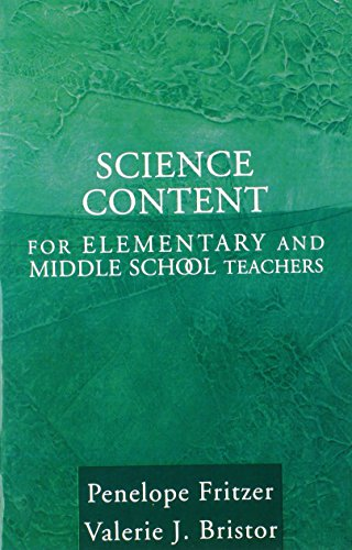 9780205407989: Science Content for Elementary and Middle School Teachers