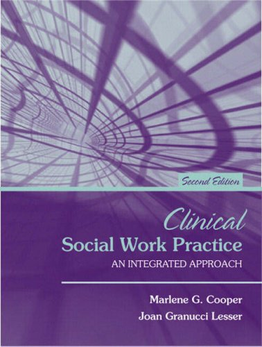 9780205408115: Clinical Social Work Practice: An Integrated Approach (2nd Edition)