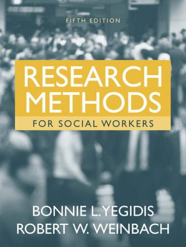 9780205408184: Research Methods for Social Workers (5th Edition)