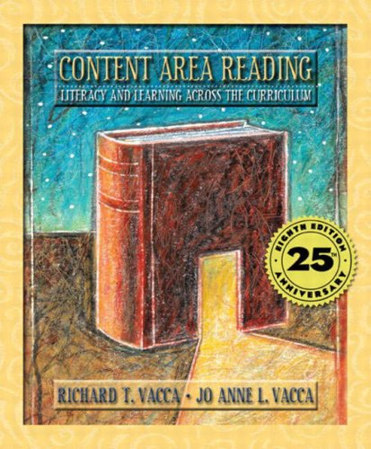 9780205410316: Content Area Reading: Literacy and Learning Across the Curriculum (8th Edition)