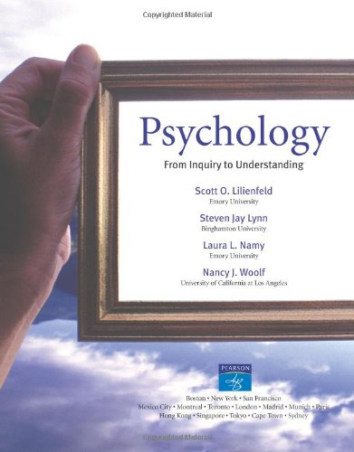 9780205412433: Psychology: From Inquiry to Understanding