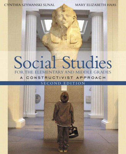 9780205412587: Social Studies for the Elementary and Middle Grades: A Constructivist Approach (2nd Edition)