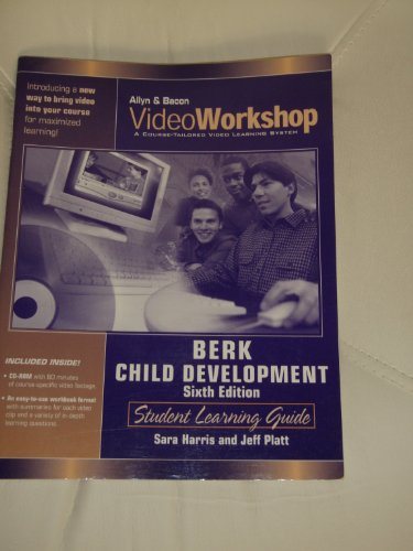 9780205412952: Videoworkshop for Child Development: Student Learning Guide with CD-ROM