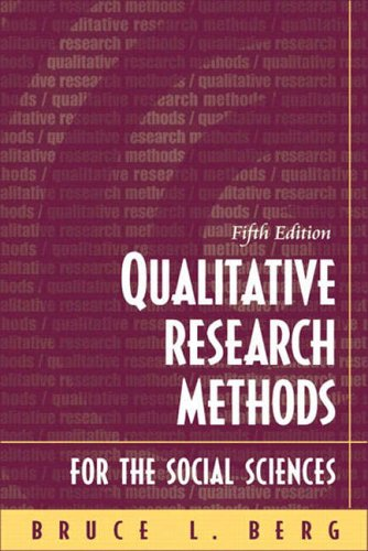 9780205414215: Qualitative Research Methods for the Social Sciences (International Edition)