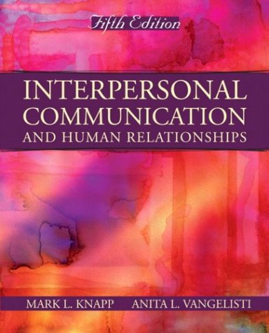 9780205414932: Interpersonal Communication and Human Relationships (5th Edition)