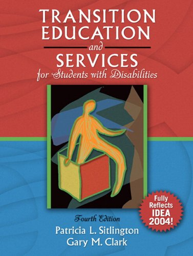 9780205416424: Transition Education and Services for Students with Disabilities (4th Edition)