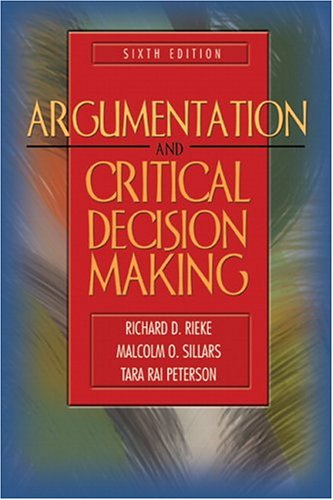 9780205417933: Argumentation and Critical Decision Making (6th Edition)