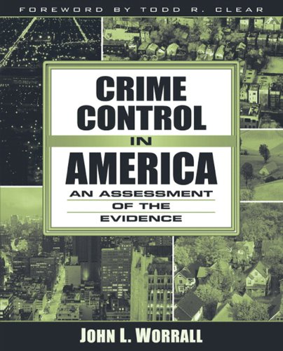 9780205418794: Crime Control in America: An Assessment of the Evidence
