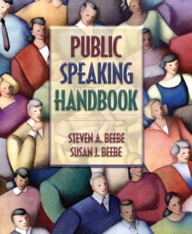 9780205420599: Public Speaking Handbook