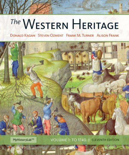 9780205423866: Western Heritage, The, Volume 1 (11th Edition)