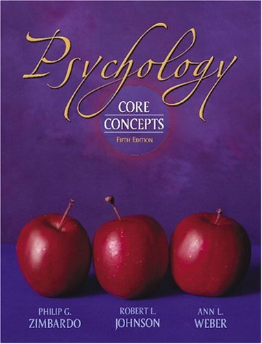 9780205424283: Psychology: Core Concepts (hardcover) (5th Edition)