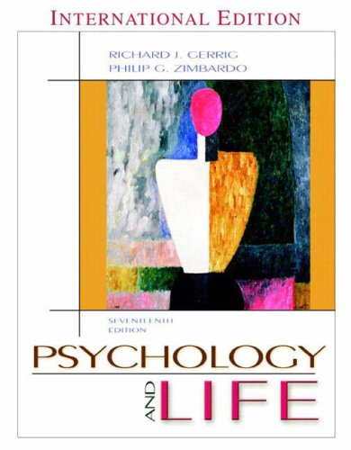 9780205428670: Psychology and Life (Book Alone): International Edition