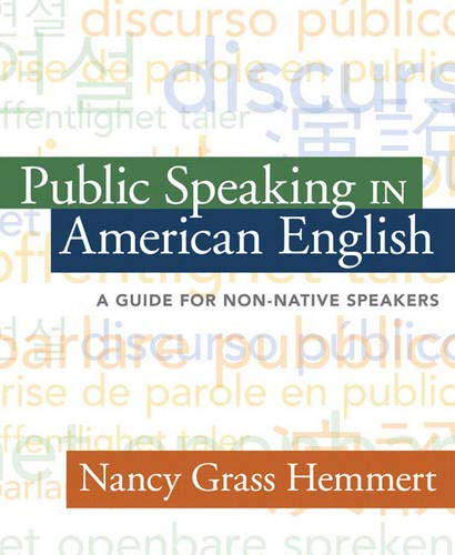 9780205430994: Public Speaking in American English: A Guide for Non-Native Speakers