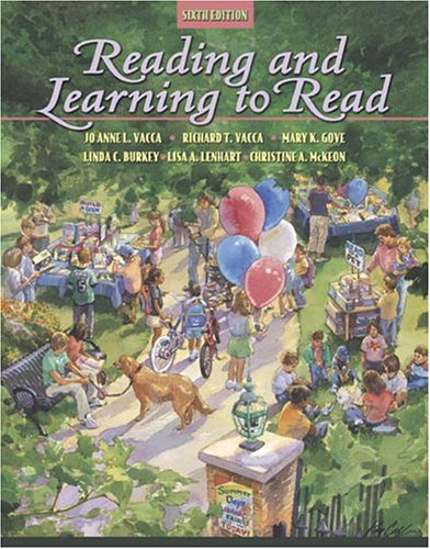 Reading and Learning to Read (6th Edition): Jo Anne L.