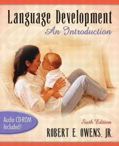 9780205433186: Language Development: An Introduction (with Audio CD) (6th Edition)
