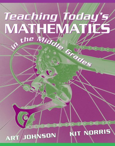 9780205433599: Teaching Today's Mathematics in the Middle Grades