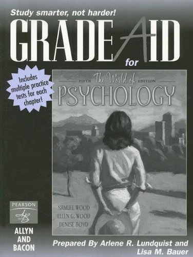 9780205434244: Grade Aid for the World of Psychology