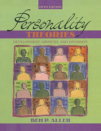 9780205439126: Personality Theories: Development, Growth, and Diversity (5th Edition)
