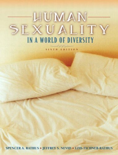 9780205439317: Human Sexuality In A World Of Diversity