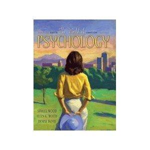 9780205439324: Supplement: World of Psychology (Paperbound Edition), the - World of Psychology, the (Book Alone) 5/